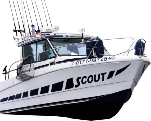 """Unser Guiding-Boot """"Starfisher 790″"""