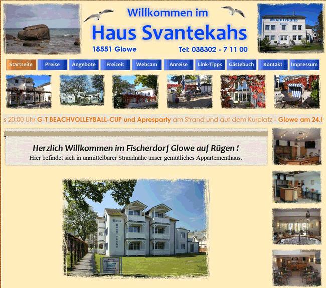 Haus-Svantekahs-Homepage